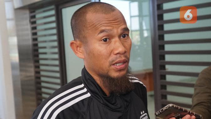Kapten Persib Bandung Supardi Nasir. (Liputan6.com/Huyogo Simbolon)