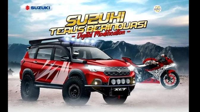 Gelar Digimods Contest, Suzuki Cari Desain Modifikasi Terbaik