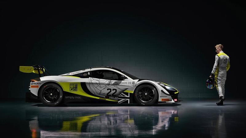 James Baldwin WFG British GT Championship