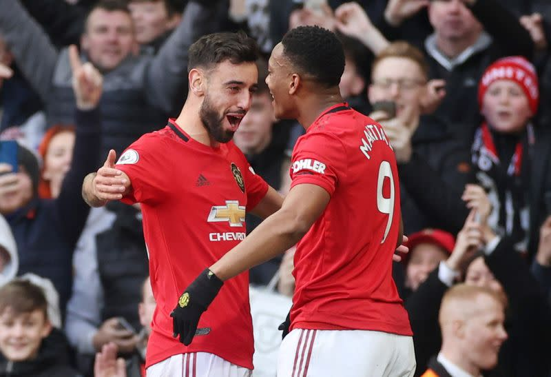 Man United's Fernandes excited by Pogba partnership