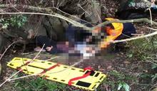初五上山泡溫泉 廂型車衝邊坡釀6傷