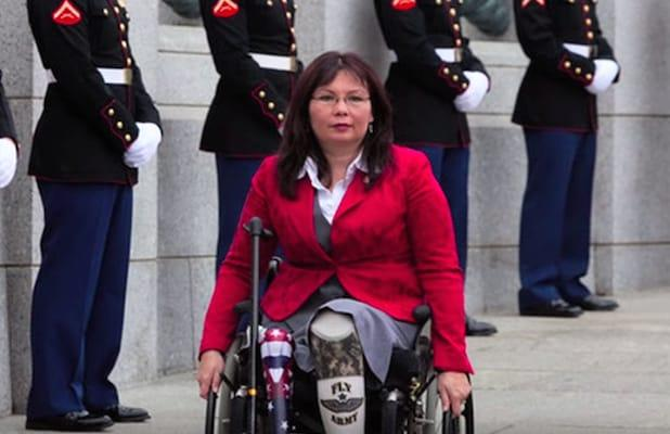 Sen. Tammy Duckworth Joins Fellow Veterans Slamming 'Cowardly' Trump for Reported Military Comments