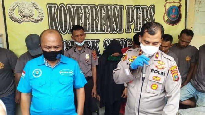 Peras Warga, 8 Anggota BNN dan Polri Gadungan di Sumut Dibekuk