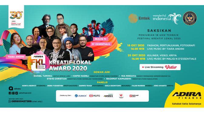 Mencari Pemenang Kreatif Lokal Award 2020