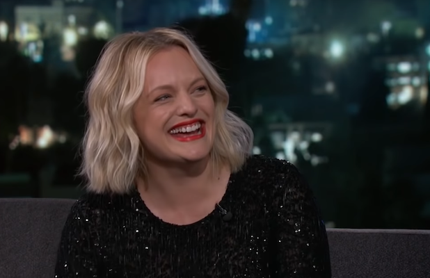 'The Invisible Man' Star Elisabeth Moss Had to Fight With Stunt Double in 'Giant Green Condom' Suit (Video)