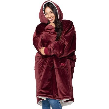 The Original Oversized Sherpa Blanket Sweatshirt. (Photo: Amazon)