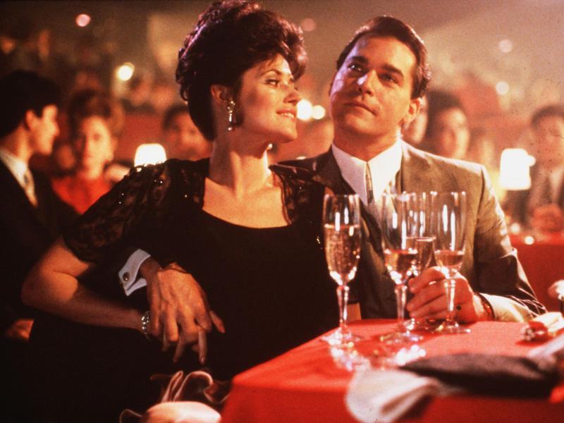 Lorraine Bracco and Ray Liotta in 'Goodfellas'Warner Bros/Kobal/Rex