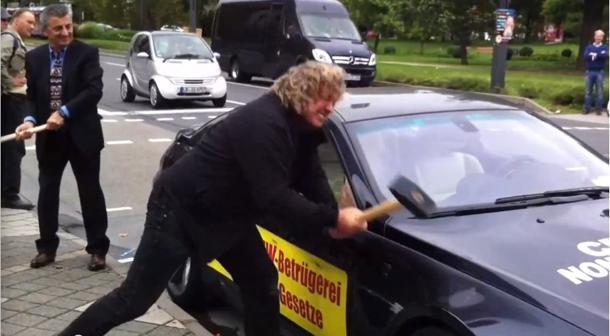 BMW M6 owner goes Hulk over defects, smashes own car