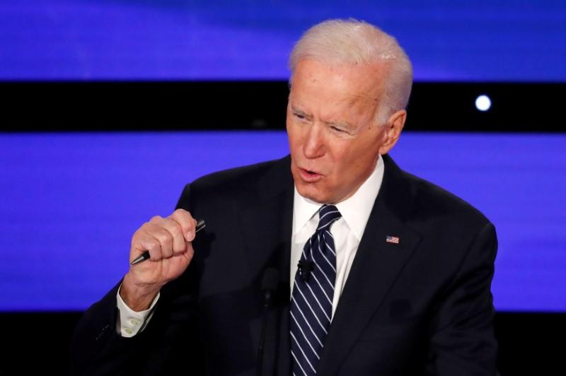 Joe Biden wins backing of national iron workers union in White House race