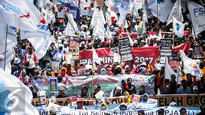 Jika Jokowi Teken UU Cipta Kerja, KSPI Ancam Akan Demo Besar-Besaran