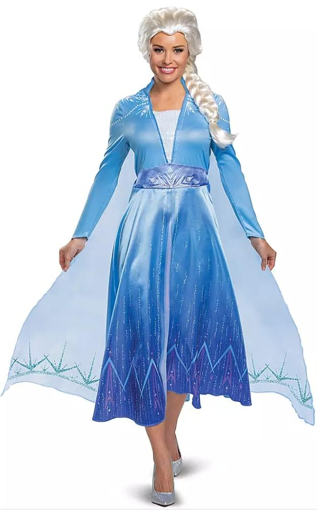Elsa Deluxe Costume for Adults (Photo via ShopDisney.com)