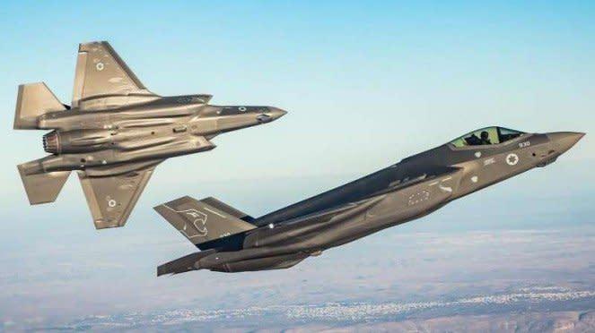 VIVA Militer: Jet tempur F-35 Lightning II milik Angkatan Udara Israel
