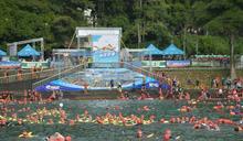 八度挑戰日月潭泳渡 馬英九:游比我快就是超速,要移送法辦