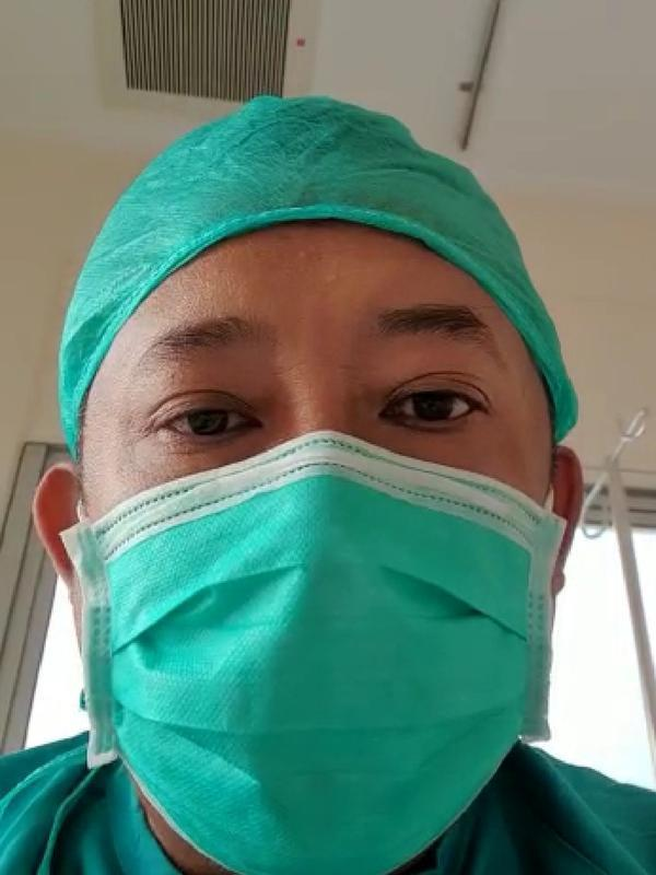 Wakil Wali Kota Bandung Yana Mulyana menjalani isolasi usai dinyatakan positif Covid-19. (Istimewa)