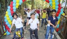 集集鎮綠色隧道及環鎮自行車斷點 完工啟用