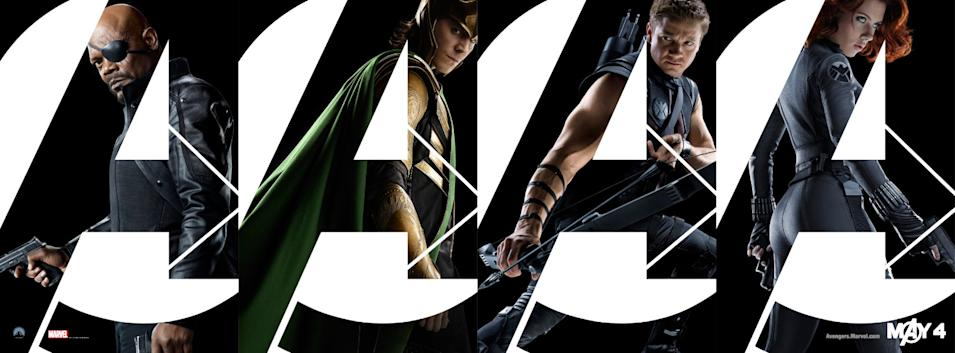 The Avengers 2012 Banners