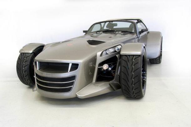The 340-hp Donkervoort D8 GTO is a Dutch treat