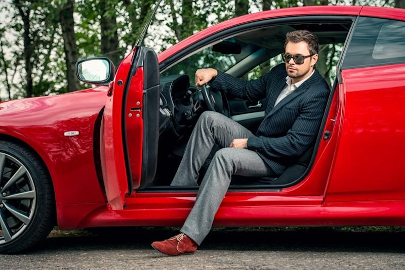 man in fancy car {priorities after 50}