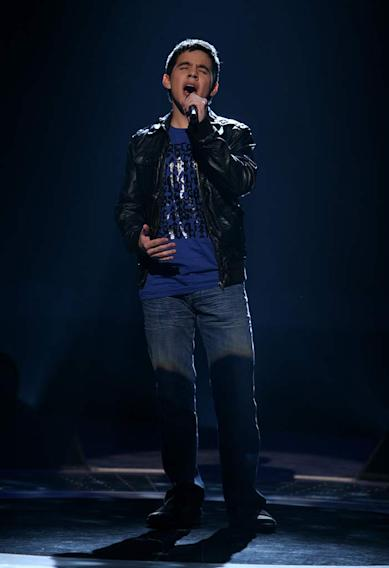 David Archuleta performs as one of the top 20 contestants on the 7th season of American Idol.