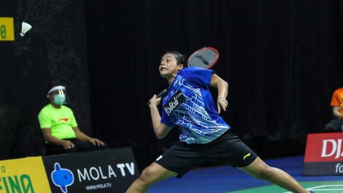 Penampilan Komang Ayu Cahya Dewi pada PBSI Home Tournament, Rabu (22/7/2020). (PBSI)