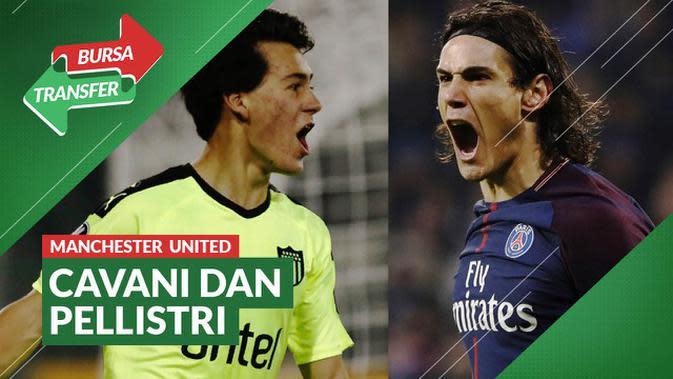 VIDEO Bursa Transfer Liga Inggris: Edinson Cavani dan Facundo Pellistri Menuju Manchester United