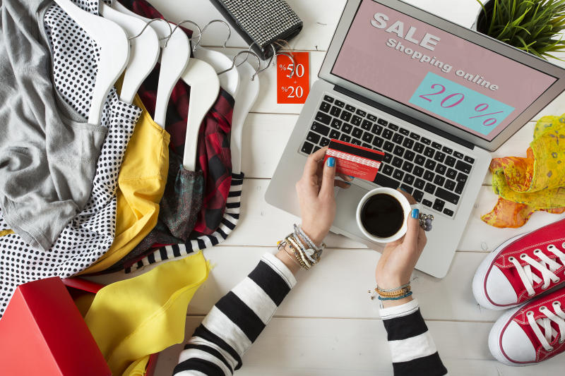 Ready, set, shop the best clothing deals of Black Friday from the comfort of your home! (Photo: Getty Images)