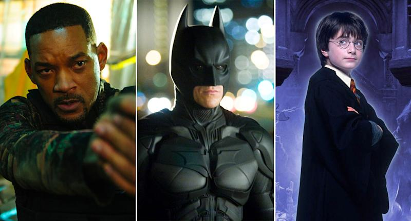 Bad Boys For Life, The Dark Knight, Harry Potter and the Philosopher's Stone are all coming to showcase for a fiver. (Sony/WB)