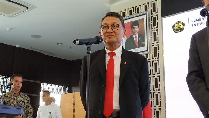 Menteri ESDM Arifin Tasrif. (Liputan6.com/Pebrianto Eko Wicaksono)