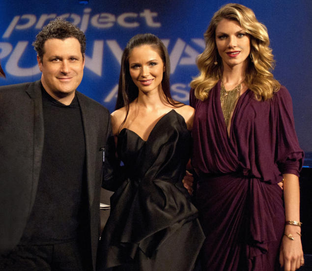 Isaac Mizrahi, Georgina Chapman and Angela Lindvall