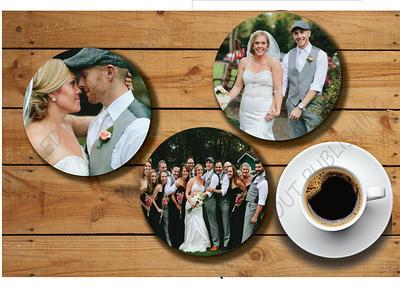 Best Man Gift Groomsmen Gift Wedding Gift Custom Coasters Personalized Coasters Bar Decor Wedding Couple Gift Cork Anniversary Gift