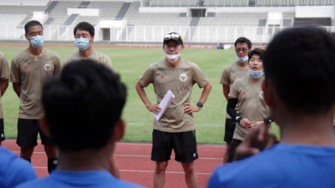 Imbang Lawan Makedonia Utara, Shin Tae-yong Beberkan PR Timnas U-19