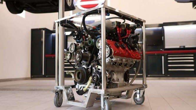 Mesin Ferrari F40 Dijual Tanpa Mobilnya, Harganya Wow
