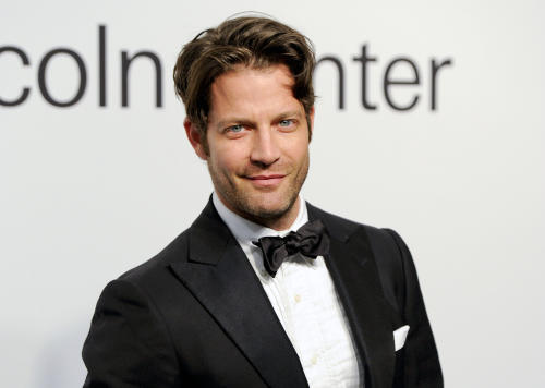 "FILE - This Oct. 24, 2011 file photo shows TV personality and interior designer Nate Berkus at ""Lincoln Center Presents: An Evening With Ralph Lauren"" in New York. Berkus has been adding fantasy to human homes for 16 years. But he's been a dog lover longer, so he's going to help design a half-million-dollar fantasy dog park. He has joined the creative team for the 2014 Beneful Dream Dog Park Contest. (AP Photo/Evan Agostini, File)"