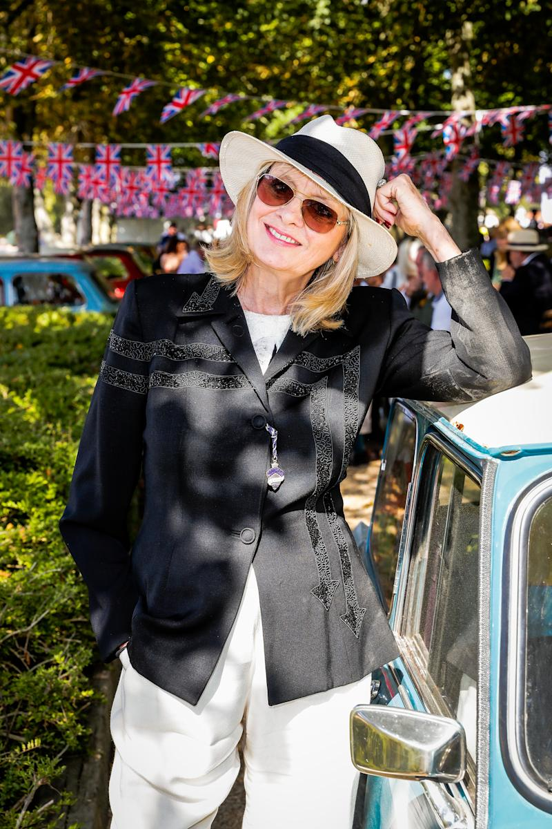 Twiggy, pictured at the Goodwood Revival in Chichester last week, turns 70 today [Photo: Getty]