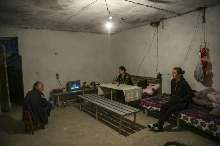 Defiance amid the bombs in Nagorno-Karabakh
