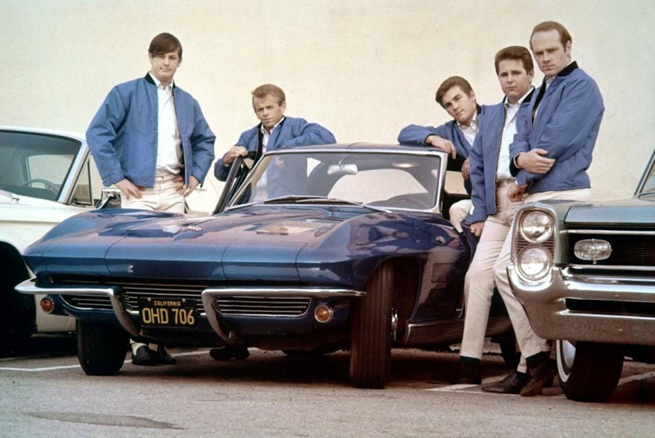 The Beach Boys' Corvette