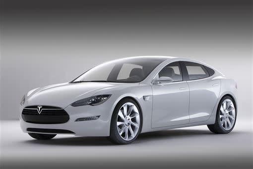 第一代Tesla Model S。(圖/翻攝Tesla網站)