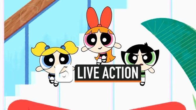 VIDEO: Serial The Powerpuff Girls Akan Dibuat Live-Action