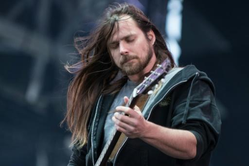 Lukas Nelson, son of famed country singer Willie Nelson, playing with his band Promise of the Real at the summer music festival in Quebec