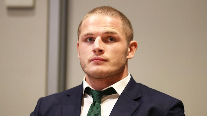 England and South Sydney prop given nine-game gouge ban — George Burgess