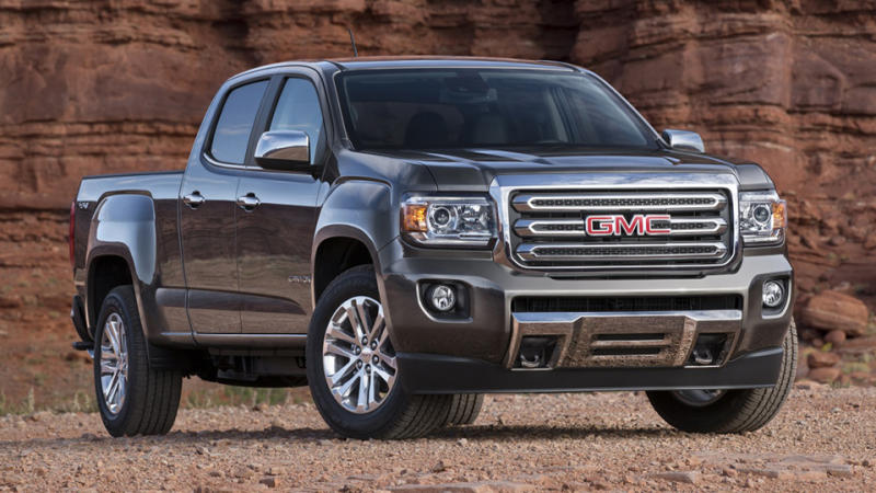 2015 GMC Canyon searches for the style-smart pickup owner