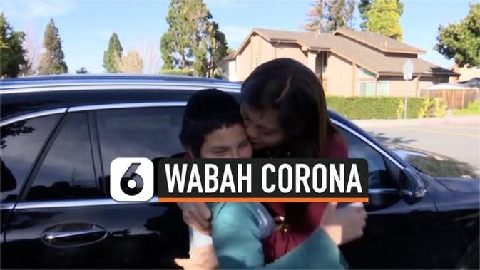 VIDEO: Momen Haru Anak dan Ibu, Setelah Terpisah Akibat Corona