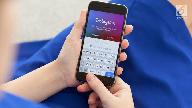 Ilustrasi Instagram (iStockPhoto)