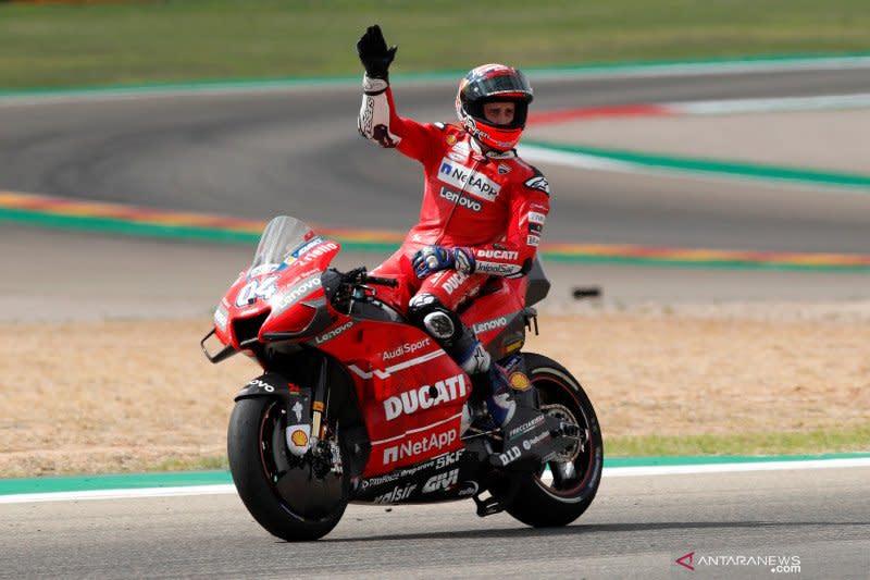 Dovizioso dinyatakan fit untuk seri pembuka MotoGP di Jerez