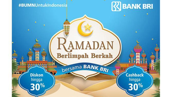Ramadan Berlimpah Berkah bersama Bank BRI.