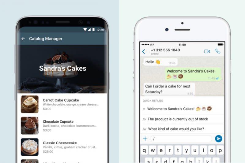 WhatsApp Business kini terintegrasi dengan Facebook Page