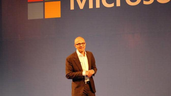 CEO Microsoft, Satya Nadella (Liputan6.com/Jeko Iqbal Reza)