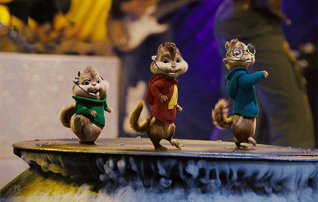 Man arrested for stripping during 'Chipmunks' movie