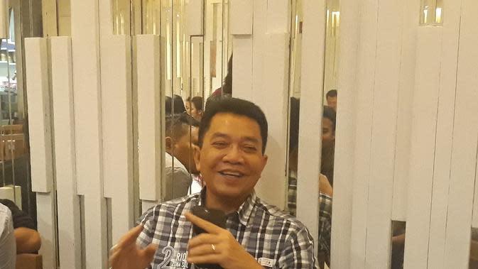 Sekjen PBSI, Achmad Budiharto. (Bola.com/Yus Mei Sawaitri)