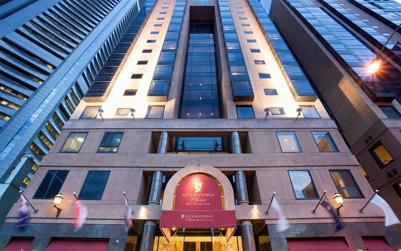 The Stamford Plaza has been linked to 31 cases